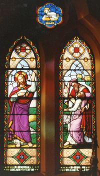 Risen Christ with wounds, The Good Samaritan