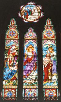Christ Nativity, Ascension, and Baptism