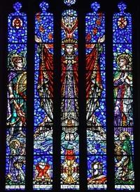 The Triumphant Christ, close-up