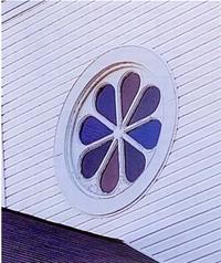 Steeple window