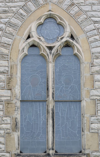 St. Luke and St. John tracery