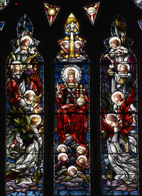 Christ Enthroned center