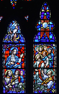 Jesus appears to seven Apostles
