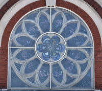Rose Window outside