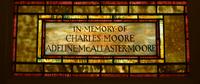 Moore Memorial inscription