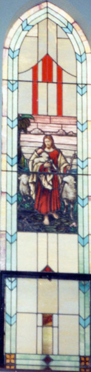 Jesus With the Lost Lamb