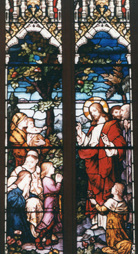Christ with Little Children