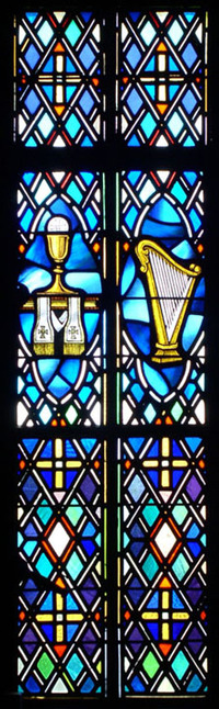 Chalice and Harp