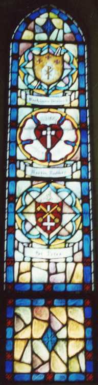 St. Peter's Seal-Luther's Coat of Arms-Michigan District Seal