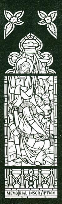 Angel at the Tomb, Willet studio sketch