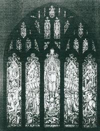 Christ in Majesty, Willet studio sketch