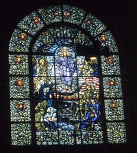 Christ and the Battlefield Window