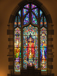 The Chancel Window - The Salvation of Man