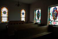 Northeast Corner of the Chapel