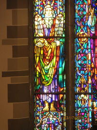 Moses in the Chancel Window