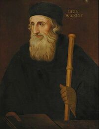 John Wycliffe by Thomas Kirkby
