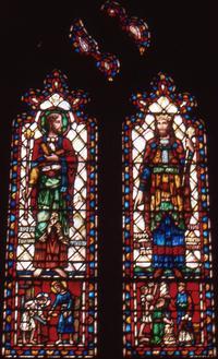 """Artisans (Craftsmanship)"" St. Joseph and Solomon"