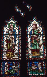 """Healing"" St. Peter and Naaman"