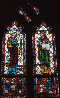 """Pedagogy"" St. Mary, the mother of Christ and Eli"