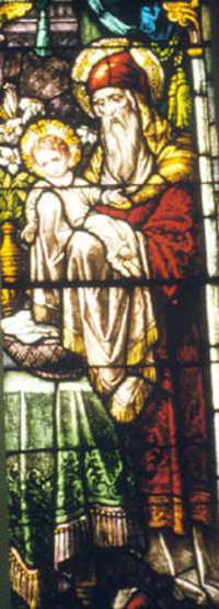 Presentation of Jesus in the Temple, detail 3