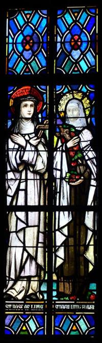 St. Rose of Lima and St. Teresa Little Flower
